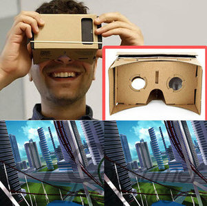 Cardboard 3D Virtual Reality Bril