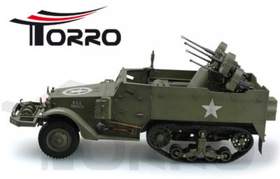 1/16 RC US M16 Anti-aircraft Halftruck